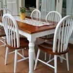 Set meja makan minimalis terbaru kursi 4