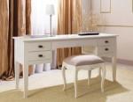 Meja Kerja Putih Modern Minimalis