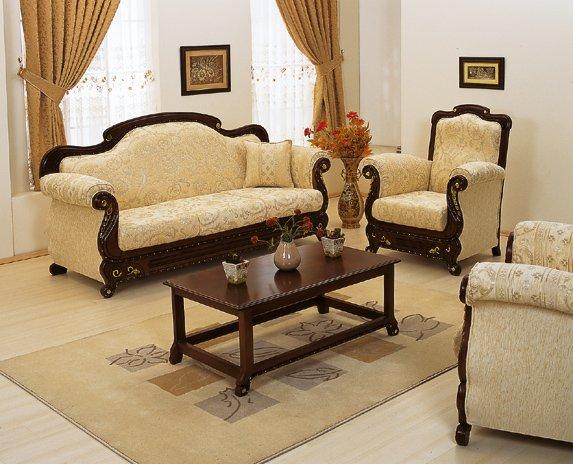 Sofa Ruang Tamu Set Ukir Jepara