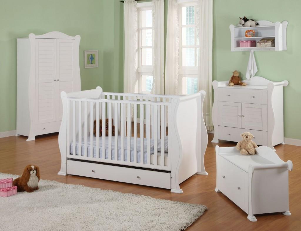 Set kamar tidur bayi klasik murah cat duco