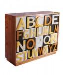 Bufet Minimalis Alphabet Modern ABC