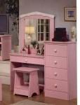 Meja rias anak perempuan minimalis pink MRI-014