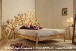 Tempat Tidur mewah emas clacis BRS-023