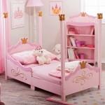 Tempat tidur anak pink lucu Set