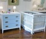 Box Bayi Dan baby Taffel Warna Biru Muda