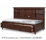 Day Bed Laci Warna Coklat