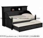Day bed Sorong Warna Hitam