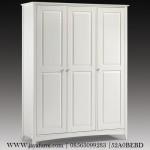 Lemari Pakaian 4 Pintu Modern Cat duco