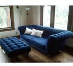 Bangku Sofa Minimalis Chesterfield Modern
