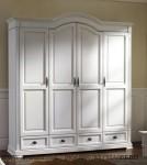 Lemari Pakaian Klasik Duco 4 Pintu