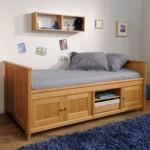 Desain Tempat Tidur Anak Modern Kayu Jati