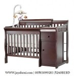Baby Cribs Minimalis Laci Dan Pitu