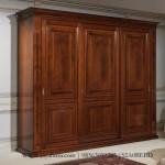 Lemari Baju Klasik 3 Pintu Mewah Jepara