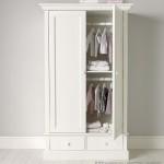 Lemari Pakaian Anak Putih 2 Pintu