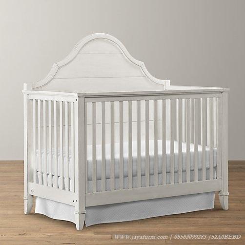 Tempat Tidur Bayi Putih Aqila