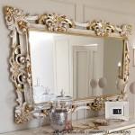 Cermin Hias Ruang Tamu ukir Mewah