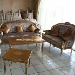 Sofa Ruang Tamu Gold Luxury