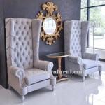 Kursi Sofa Wing Sandaran Tinggi