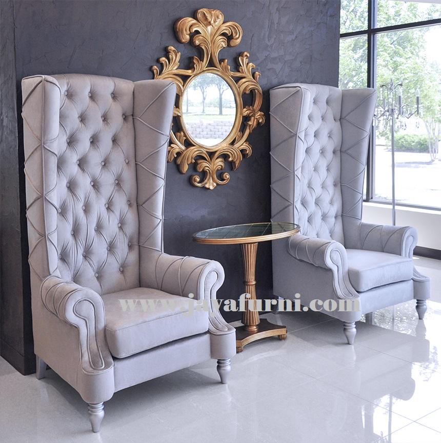 Kursi Sofa Wing Sandaran Tinggi, kursi tamu, sofa minimalis, harga sofa tamu, sofa ruang tamu