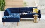 Sofa Sudut L Minimalis Desain Jengki