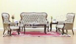 Set Sofa Ruang Tamu Jati Grand Pa