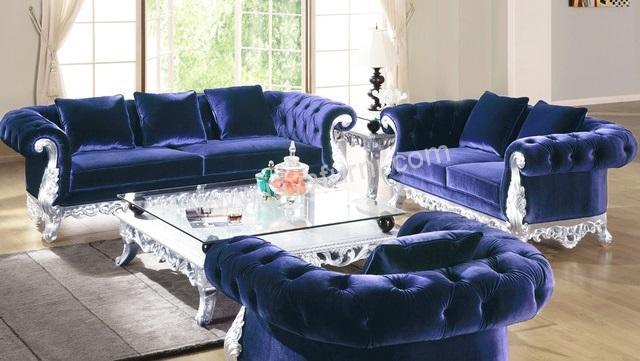 Set Sofa Ruang Tamu Klasik Emma Terbaru