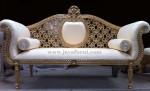Sofa Santai Mewah Ukir Gold Klasik
