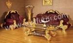 Set Sofa Ruang Tamu Mewah Gold Azka