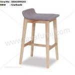 Kursi Bar Stool Kayu Solid