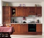 Kitchen Set Minimalis Kayu Jati 3,5 Meter