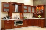 Kitchen Set Modern Minimalis Sudut Model L