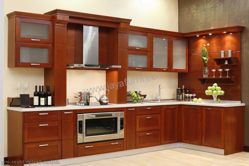 Kitchen set modern minimalis sudut model l jayafurni for Biaya kitchen set