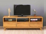 Bufet Rak Tv Minimalis Retro Solid Wood