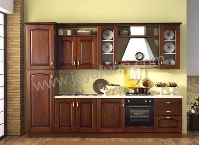 Kitchen set panjang minimalis lemari samping jayafurni for Harga kitchen set minimalis per meter