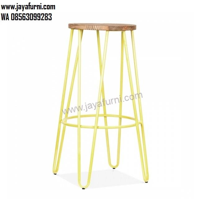 Stool Bar Cafe Kaki Besi Murah