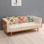 Sofa Bangku Kayu Panjang Scandinavian