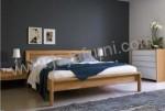 Tempat Tidur Modern Set Natural Jati
