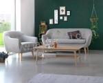 Kursi Sofa Retro Kayu Sungkai