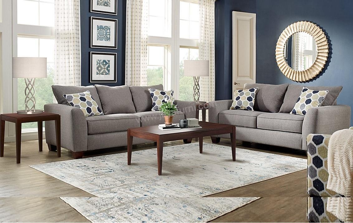 Set Sofa Minimalis Grey