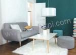 Sofa Jengky Meja Putih