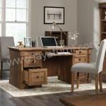 Meja Kantor Minimalis Finishing Rustic Antik