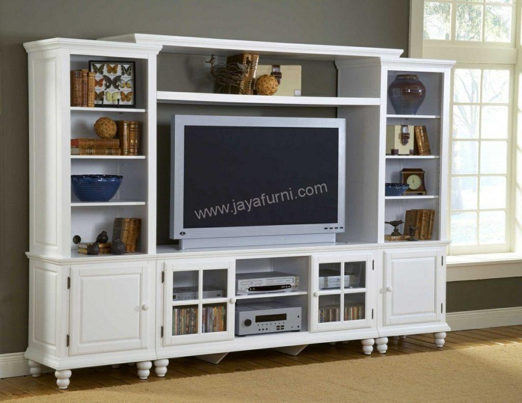Bufet Tv Modern Rak Samping