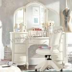 Meja Rias Putih Kupu Kupu
