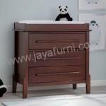 Baby Tafel Jati Minimalis Brown